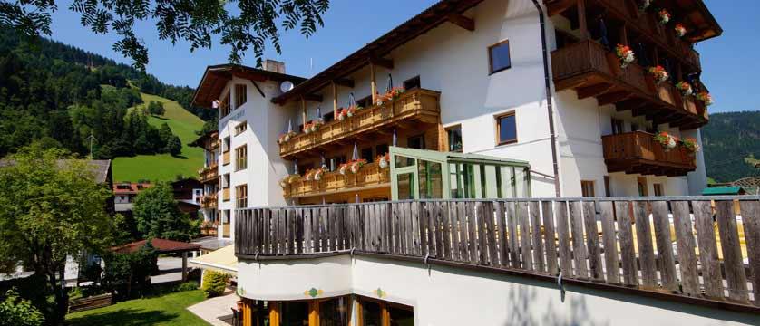 Hotel Tilerhof, Oberau, The Wildschönau Valley, Austria - Exterior in summer.jpg